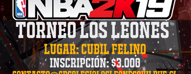 Afiche Torneo NBA 2K19